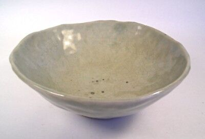 A Signed Japanese Celadon Bowl T43