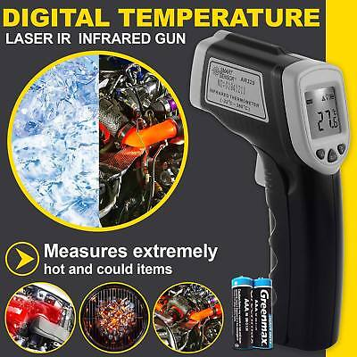New Digital IR Infrared Laser Thermometer Temperature Non-Contact Handheld Gun