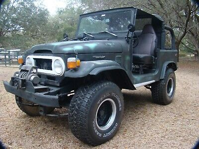 1975 Toyota Land Cruiser FJ40 1975 Toyota Land Cruiser FJ40 4 speed with 35's and Warn Winch, Electronic Ign.