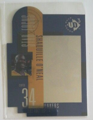 Shaquille O'NEAL * Die CUT * LAKER'S * UD3  96-97