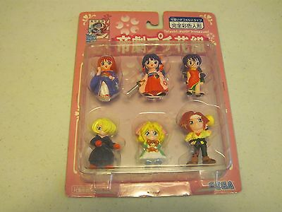 Sakura Wars Mini Action Figures NEW in Package from Japan