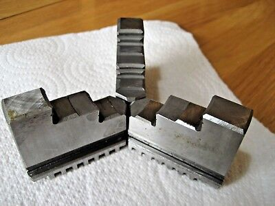 """Lathe Chuck Jaws - Outside Type - Approx 4.5"""" Chuck"""