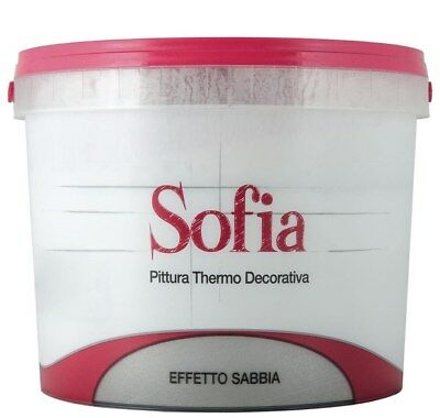 "Pittura Thermo Decorative Sofia colore ""SILVER"" e ""GOLD"" da LT 1"