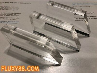 Flux Capacitor Acrylic Light Bars (3 of them) - Back to the Future