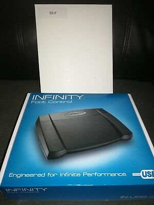 Infinity Foot Control IN-USB-2 BRAND NEW TRANSCRIPTION PEDAL WITH EXPRESS SCRIBE