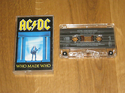AC/DC - MC - Musikkassette - Who made Who