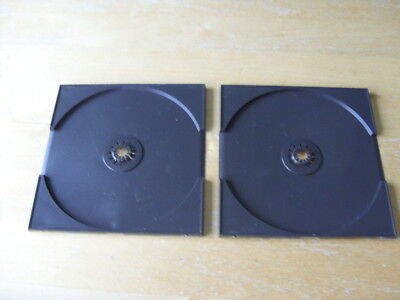 PLAYSTATION ONE / PS1 - GENUINE REPLACEMENT FRONT CASE DISC TRAYS/HOLDERS x 2