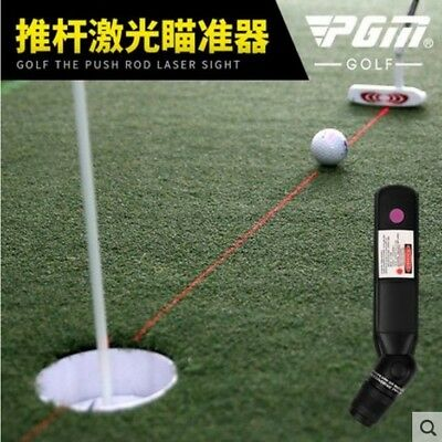 pgm golf putter laser sight  teaching putter aiming putt practice High quality
