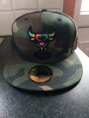 Chicago Bulls , New Era 59 fifty cap size 7 1/4 new with tag