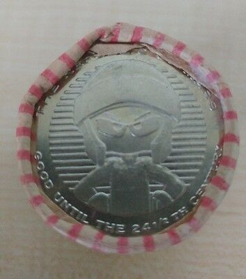 NEW!! EXTREMELY RARE Marvin The Martian Coins WB Warner Brother Studio Stores