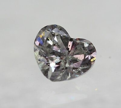 Lose natürliche(clarity enhanced) Diamant Herz 3.14 ct P1/K