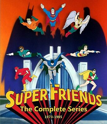 Super Friends - The Complete Series (Seasons 1-9) On Blu-ray (dvd) Superfriends