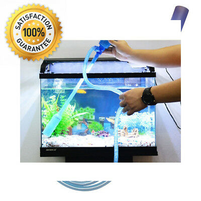 Aquarium Cleaner, Easylifer Fish Tank Cleaning Pump Siphon Water Changer...