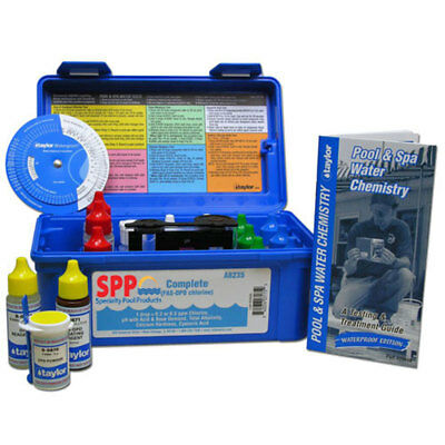 Taylor K2006 Complete FAS-DPD Pool Spa Test Kit - Full Pool Water Analysis