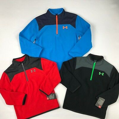 Little Boy's Youth Under Armour 1/4 Zip Pullover