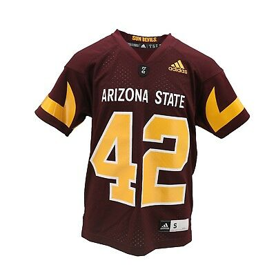 Arizona State Sun Devils Official Adidas NCAA Youth Pat Tillman Jersey New  Tags 0377ac859