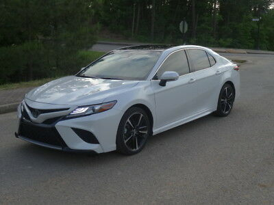 2018 Toyota Camry XSE 2018 Toyota Camry XSE with V6 like new $37,427 MSRP