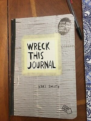 Wreck This Jounral by Keri Smith