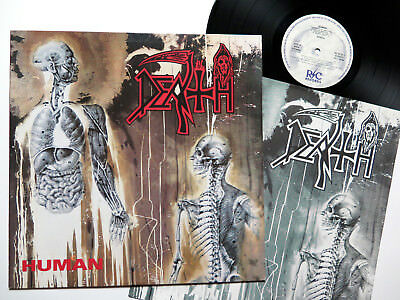 DEATH - Human LP 1991 R/C FIRST PRESS obituary immolation pestilence suffocation