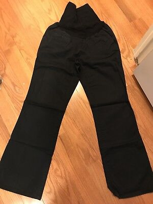 Women's Oh Baby by MOTHERHOOD Maternity Pants BLACK Size Small S