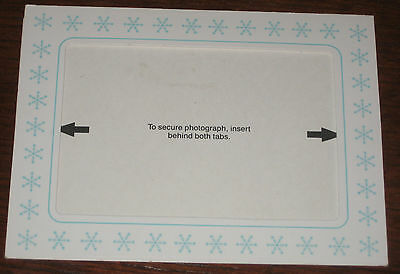 Kodak Photo Postcard - WINTER - Mailable, Flaps on back open into Easel