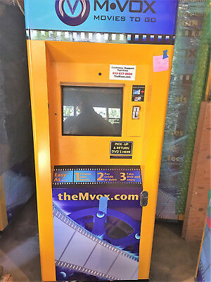 9 DVD rental Kiosks model # HDM-600 new business oportunity