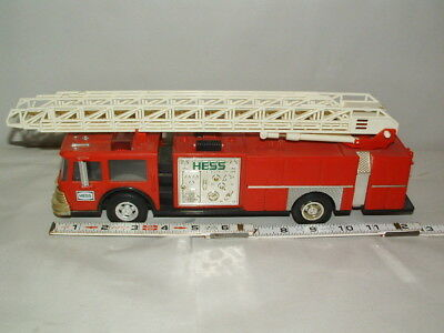 1986 Hess Coin Bank Red Fire Truck