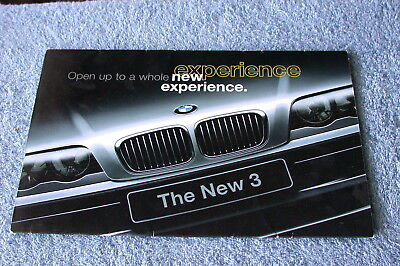 1999 BMW ALL NEW 3 SERIES 328i SEDAN INTRODUCTORY SALES BROCHURE
