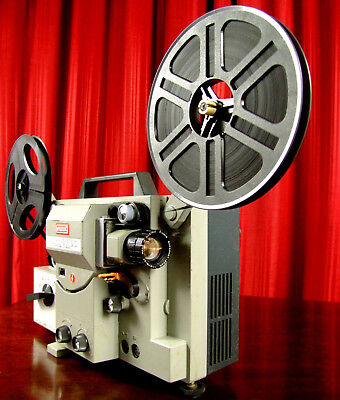 Impressive EUMIG  SUPER 8mm  SOUND Movie Film Projector Works Well  Super8  MELB