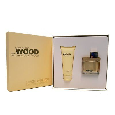 Dsquared² She Wood Golden Light Wood 50 ml Eau de Parfum + 100 ml Body Lotion