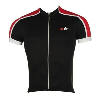 Rh Maillot Manga Corta Hombre Prime Jersey 2016 Black Red