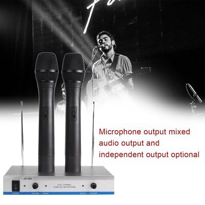 2 Shure SM58 Dynamic Vocal HandHeld Live Microphone &J-105 Dual Channel Mic A