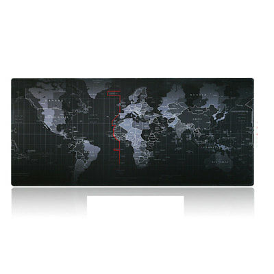 Large Size World Map Speed Game Mouse Pad Mat Mousepad Home Office Desk Pad Mat