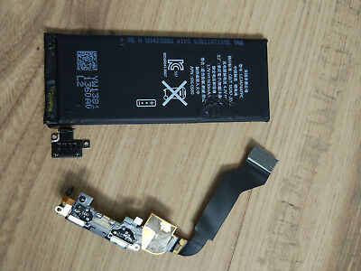 IPHONE 4S BATTERY and INTERNAL CHARGE PORT CABLE