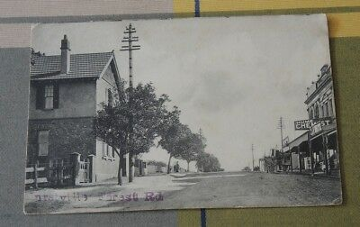 Real Photo Hurstville Forest Road Post Office Shops 1905  #1