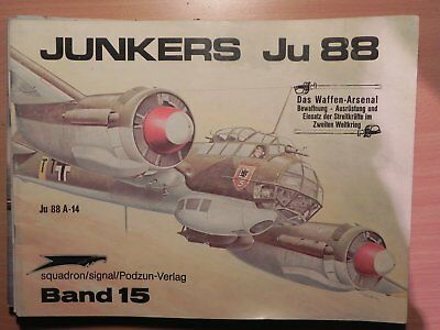 """Revue Squadron Signal n°15 """"Junkers Ju 88"""" in action"""