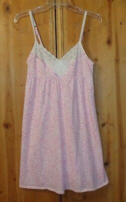 Nwot Pink Spaghetti Strap Nightgown From Charter Club Size Small