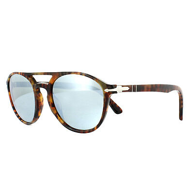 901630 Caffe Mirror Po 52mm 3170 S Sunglasses Persol Wsilver YWH2IED9