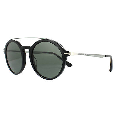 681e8faffca PERSOL SUNGLASSES 3172S 95 31 Black Green -  167.00