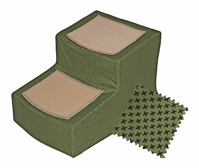 Pet Gear Designer 2 Step Pet Stair with Removable Cover