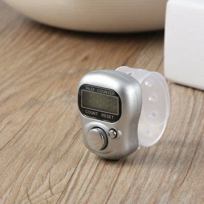 Mini 5-Digit LCD Electronic Digital Golf Finger Hand Held Ring Tally Counter MA