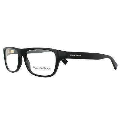 4ccaf9d915 DOLCE   GABBANA Glasses Frames DG 3276 501 Black 52mm Mens -  231.00 ...