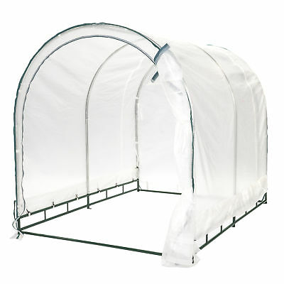 True Shelter 6' Ft. W x 8' Ft. D Greenhouse