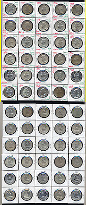 Lot Of 30 Washington Quarters- Includes High Grades And Proofs- No Reserve
