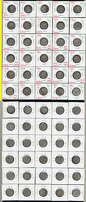 Lot Of 30 Mercury Dimes- Includes 1921-P And 1921-D- No Reserve