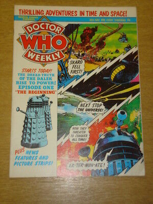 Doctor Who #33 1980 May 28 British Weekly Monthly Magazine Dr Who Dalek Cybermen
