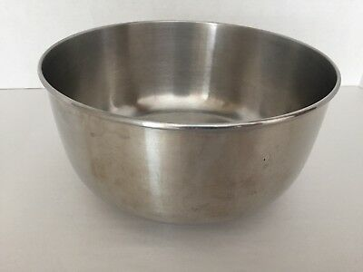 Vintage Large Stainless Steel Mixing Bowl for Stand Mixers ~ Sunbeam /Oster...