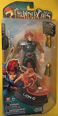Lion-O inch action figure & Sword of Omens 2011 BANDAI THUNDERCATS New NRFB