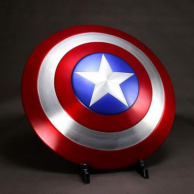 NEW CATTOYS 1:1 The Avengers Captain America Shield Strong Metal Genuine Leather