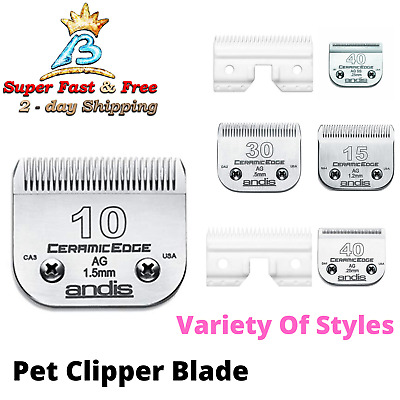Pet Grooming Clipper Ceramic Blades Animal Dog Infused Steel Pro For Oster A New